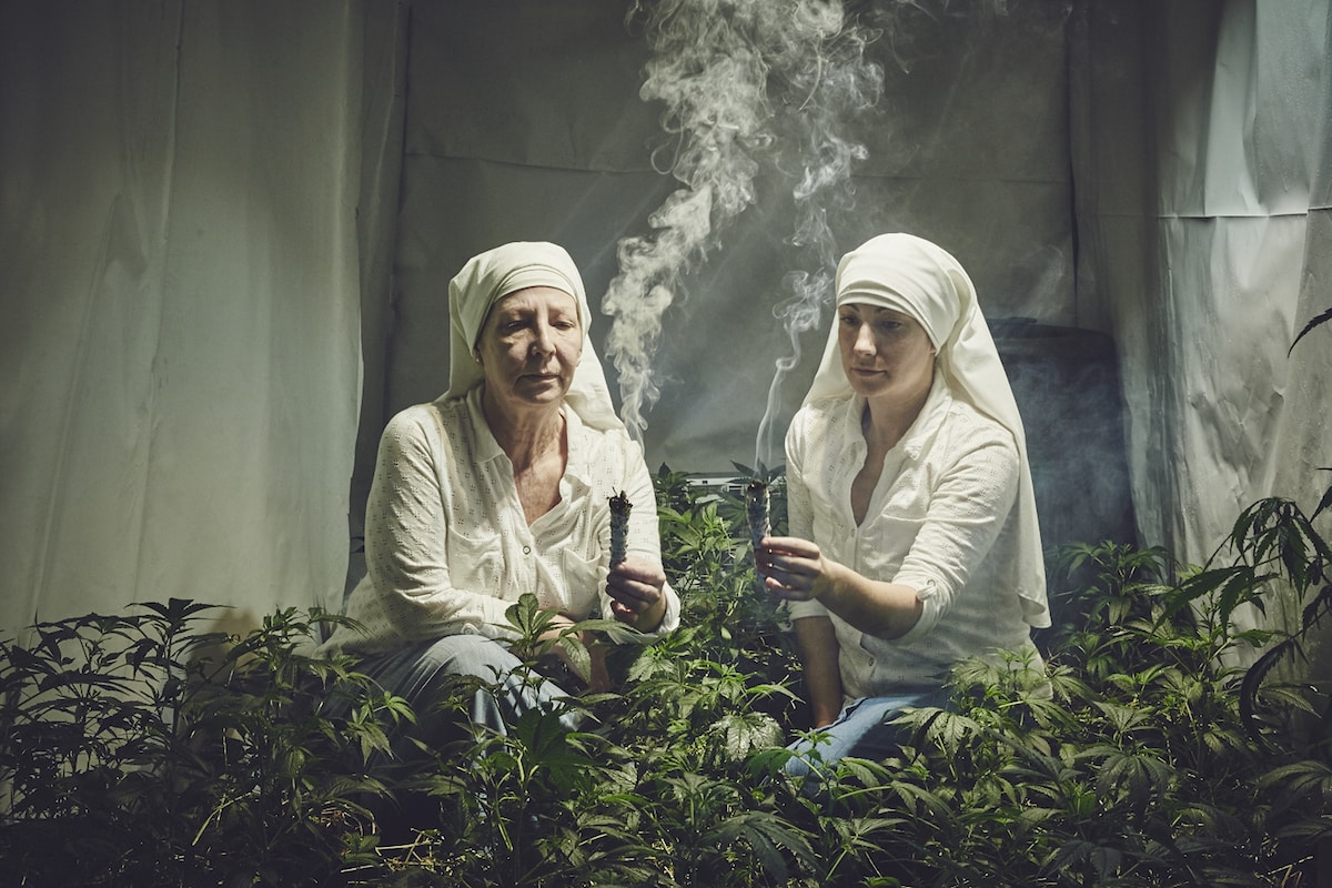 The Sisters prepare all of their products during moon cycles, according to ancient wisdom. Photo credit: Shaughn Crawford/John DuBois