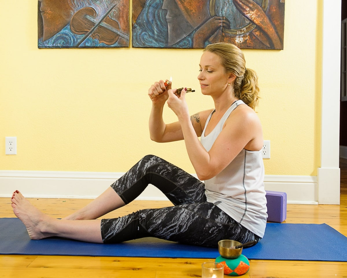 Stoned yoga is a growing trend in states with legal weed.
