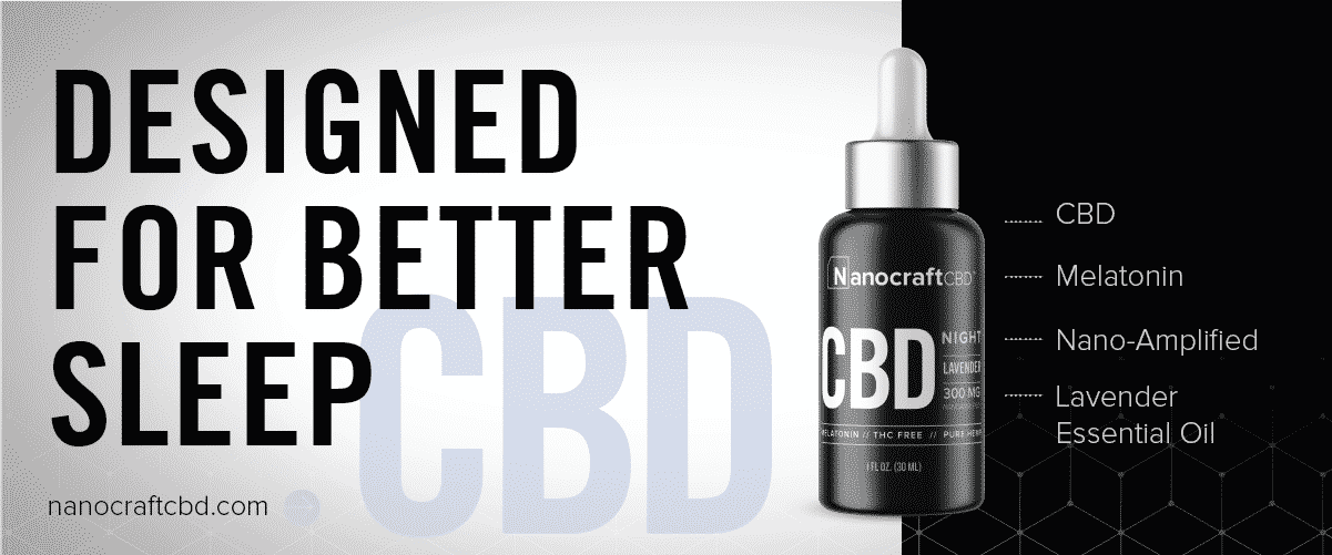Nanocraft CBD for sleep