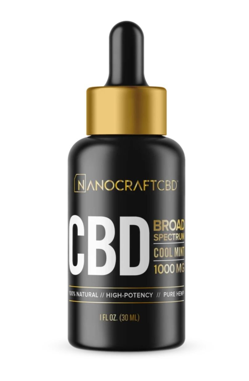 Nanocraft CBD for pain
