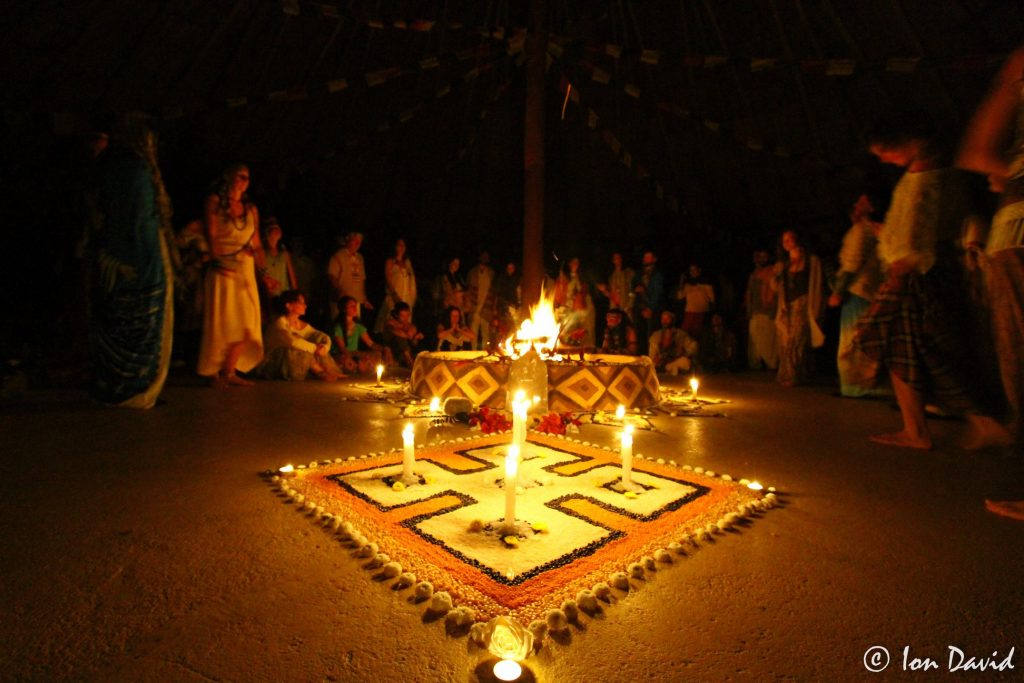 Ayahuasca ceremony is high art form in Brazil
