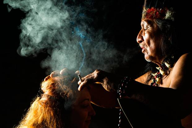 A good ayahuasca shaman knows how to heal.