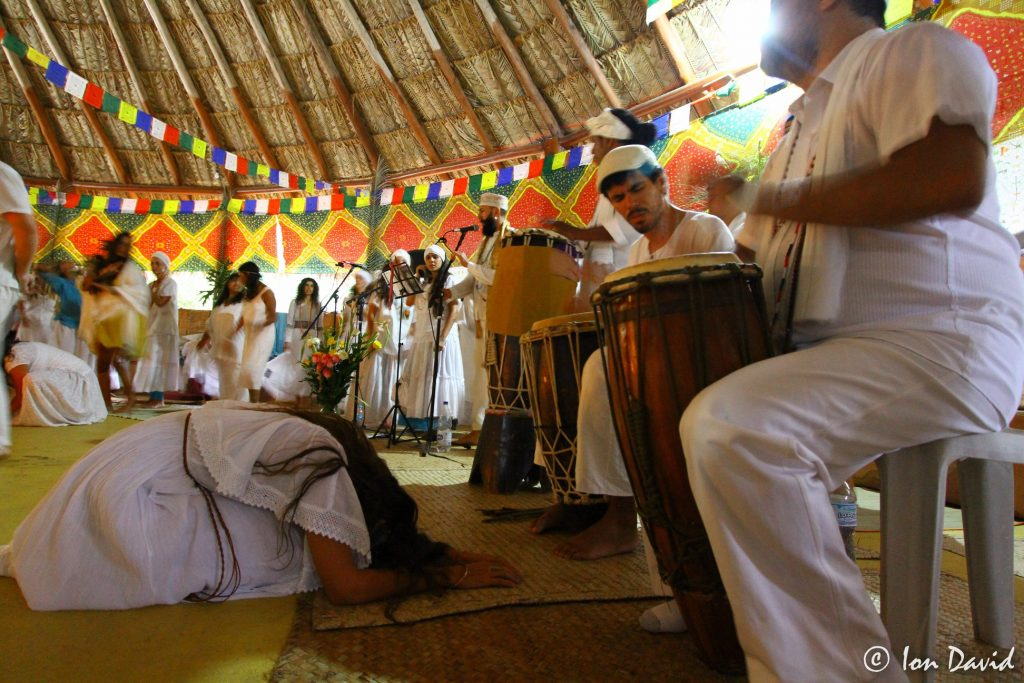 Umbandaime ayahuasca ceremonies are all-night mediumship works