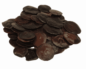 Yopo seeds, in a pile, are DMT-containing.